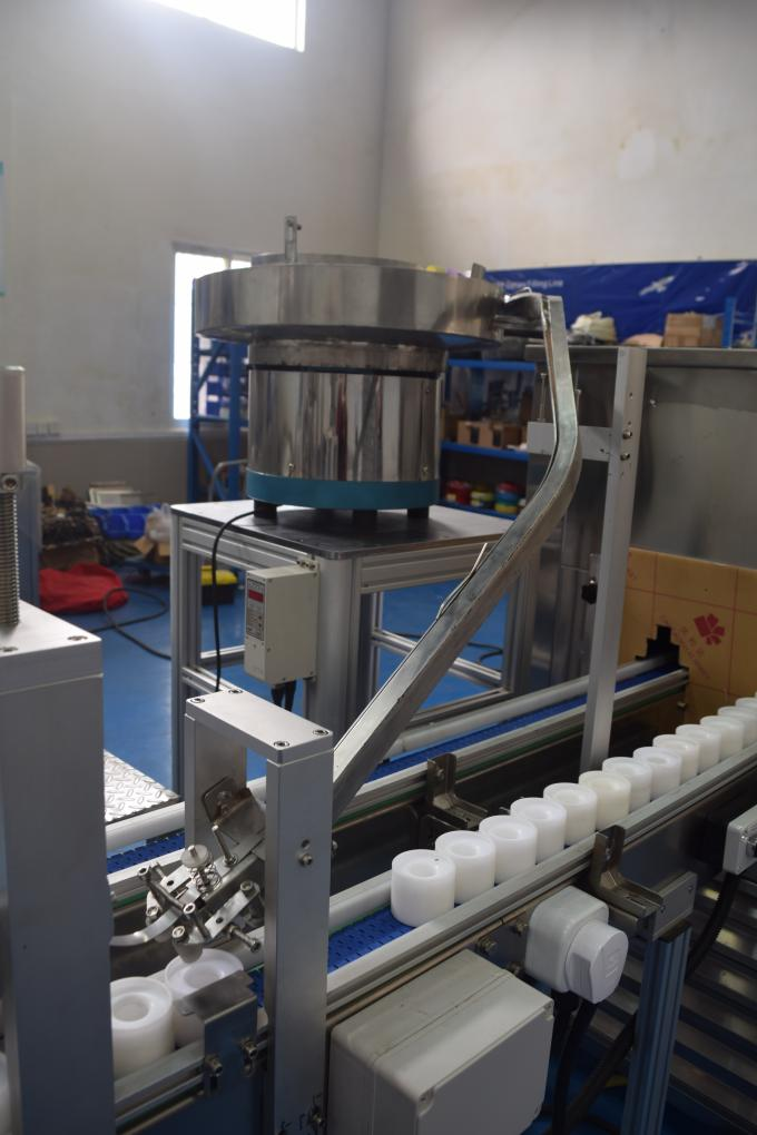Full Automatic Lip Balm Filling Machine With Chilling Tunnel