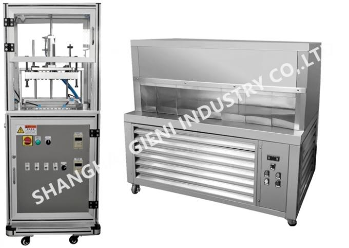 Professional Lip Balm Filling Machine With Mould Releaser And Freezing Platform