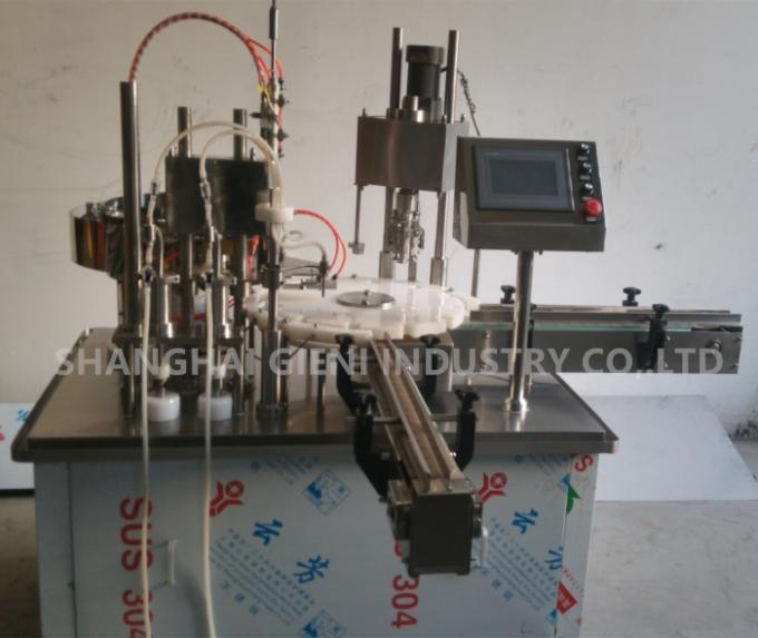 30 Bottles Per Minute Output Perfume Filling Machine with Two Nozzles