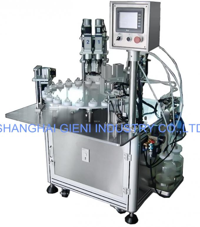 Automatic / Semi Automatic Nail Polish Filling Machine , Nail Gel Polish Filler