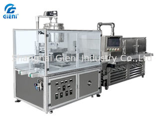 China Semi Automatic Filling Machine Silicone Mould With Preheating Function supplier