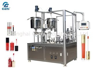 High Precision Cosmetic Filling Machine 2 Heads With Servo Motor For Lip Gloss