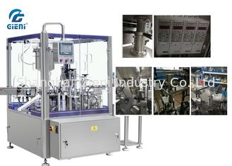 High Performance Cosmetic Tube Filling Machine 50 Pieces Per Minute