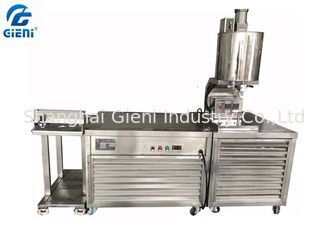 China Low Noise Manual Lipstick Production Machine , Color Cosmatic Filling Machine supplier