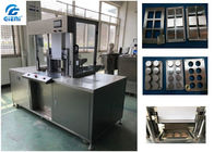 Good Quality Cosmetic Filling Machine & 2.8kw Power Cosmetic Powder Press Machine With 6 / 8 Cavities Pressed Mold on sale