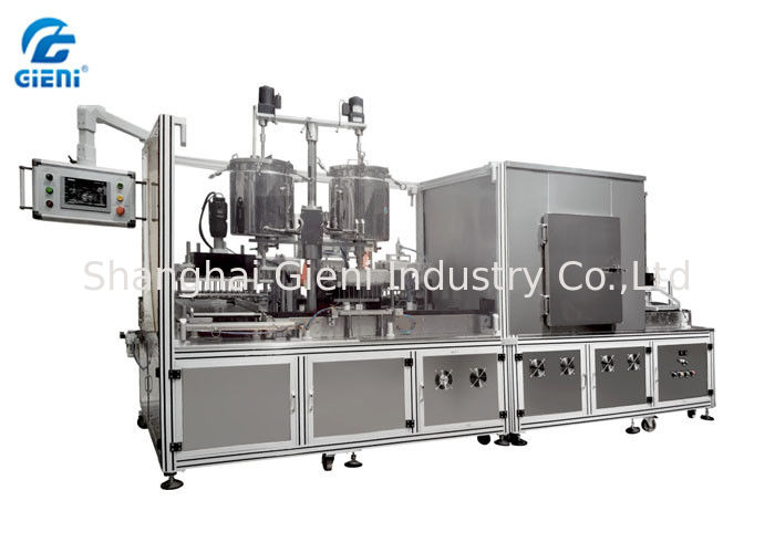 Automatic Silicone Lipstick Filling Machine SUS304 With 20L Tank