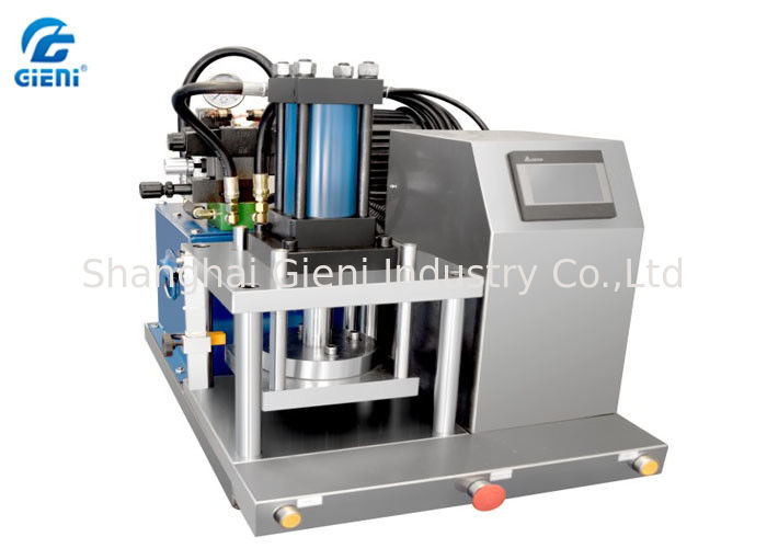 Lab Type Cosmetic Powder Press Machine , Fully Hydraulic with Touch Screen
