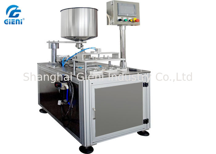 Double Colors CC Cream Filling Machine, 4Nozzle Air Cushion Filler