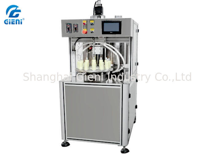 Multi - Colors Spiral Lip Gloss Filling Machine with Double Layer Tank