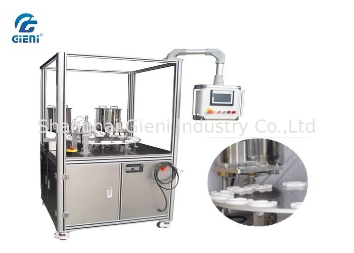 PLC Control Cosmetic Filling Machine for Air Cusion CC Foundation, Servo Motor Driven