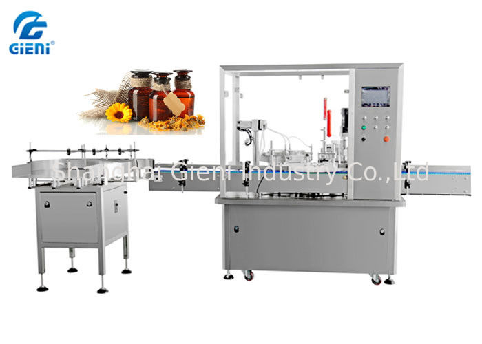 Two Nozzles Essential Oil Filling Machine , Fine Oil Filling Machine