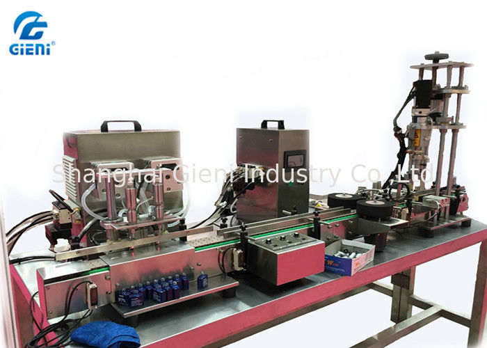 Multi - Functional Peristaltic Pump Nail Polish Filling Machine With 20-30bpm Output