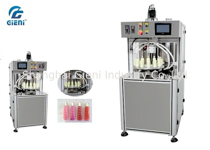 High Speed Spiral  Lipgloss Production Line , Lip Gloss Filling Machine