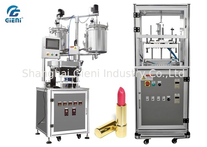 Durable Cosmetic Cream Filling Machine 12 nozzles with Air Blowing Type Mould Releaser