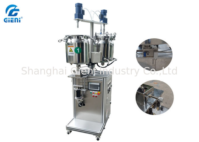 Professional Durable Mascara Filling Machine For High Viscosity Cosmetic Material