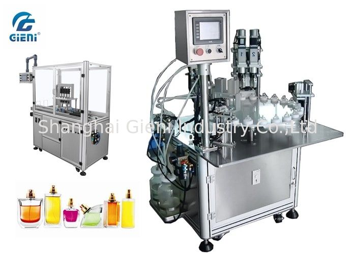 High Performance Nail Polish Making Machine 2.5kw Power With Servo Capper