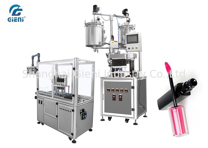 High Precision Lip Gloss Filling Machine with Servo Motor Capper