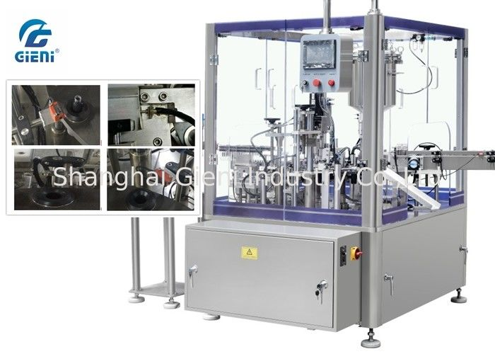Automatic Swirl Lip Gloss Filling Machine With Piston Filling Type