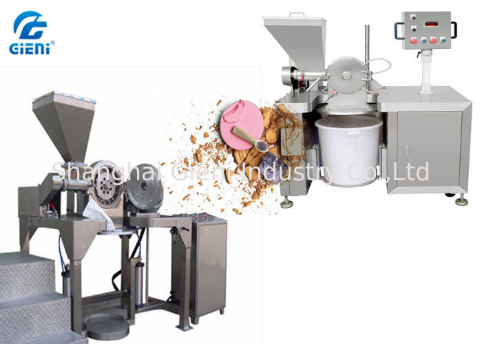 60KG/H Capacity SUS304 Cosmetic Powder Pulverizing Machine, High Speed 7200RPM Hammer Mill