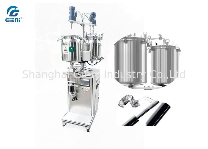 High Viscosity Cosmetic Lip Gloss Filling Machine With Double Tanks