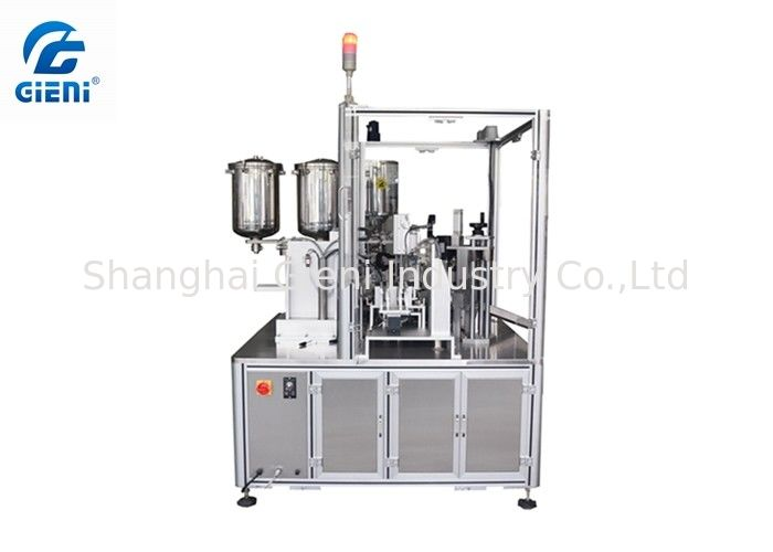 Automatic Mascara Filling And Capping Machine / Lip Gloss Filling Machine