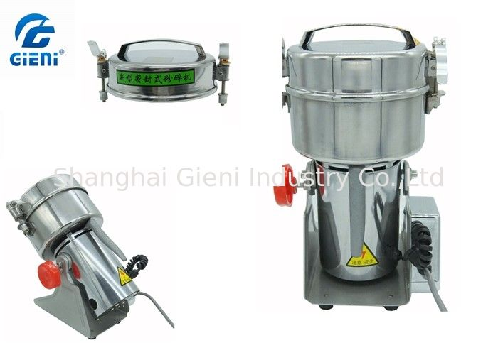 High Rotary Speed Small Powder Pulverizer For Color Cosmetic Filling Machine