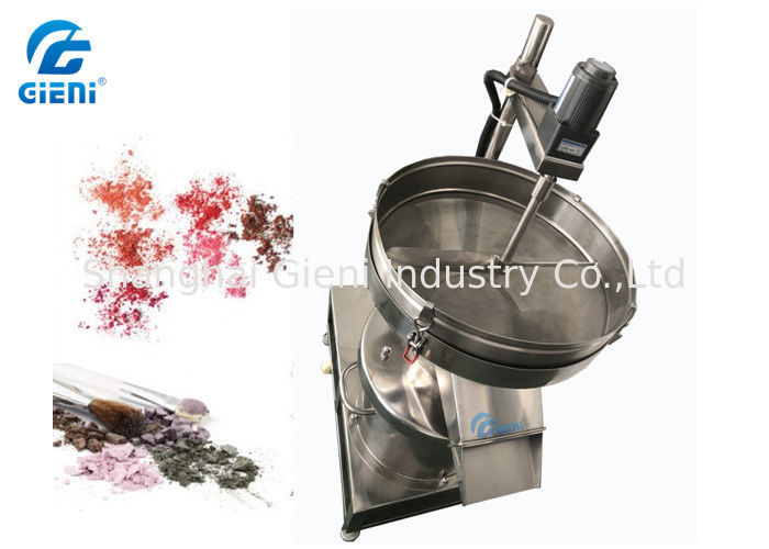 75 W Powder Sifter Machine For Cosmetic Eyeshadow Easy Operation