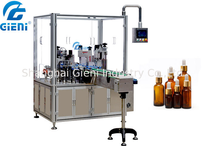 Rotary Essential Oil Bottle Filling Machine Single Nozzle Automatic Type