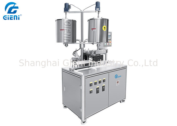 Preheating Type Lipstick Filling Machine With Twelve Cavities SUS304 Material