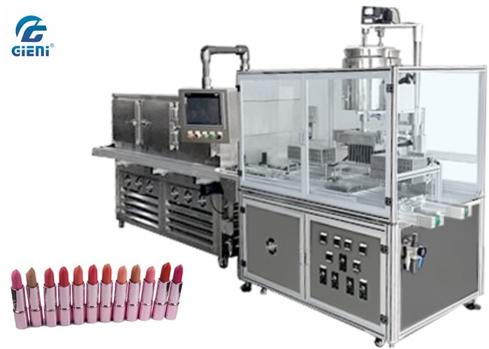 Silicone Mould Lipbalm Filling Machine For Soft Viscosity Materials
