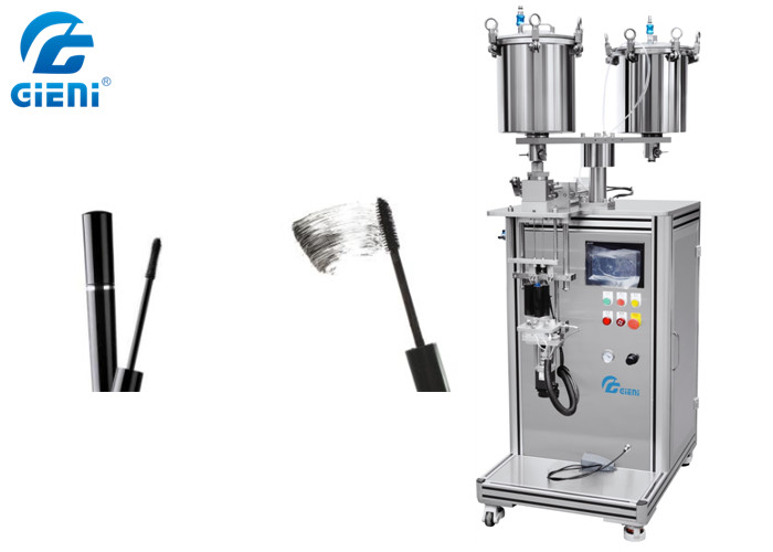 SUS304 Mascara Semi Auto Filling Machine With Touch Screen Control