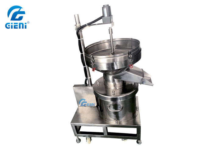 Top Mixing Type Eye Shadow Powder Sifter Sieve Machine 80 Mesh