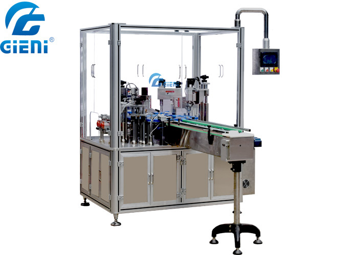 Cam Type Rotary Cosmetic Filling Equipment For Paste Material Mascara