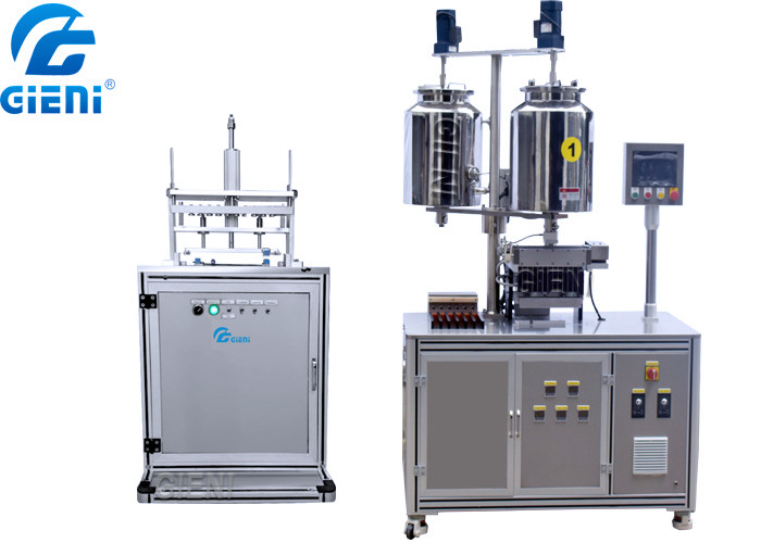 Lipstick Cosmetic Filling Machine SUS304 With Vacuum Releasing Machine