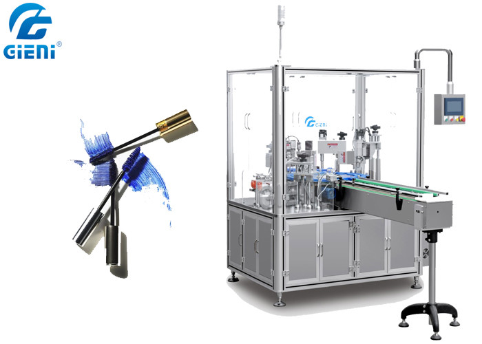 Can Type Rotary Liquid Mascara Filling Machine With Auto Capping System