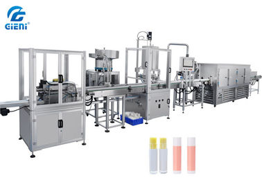 4 Nozzles Lip Balm Manufacturing Equipment Linear Type Full Automatically
