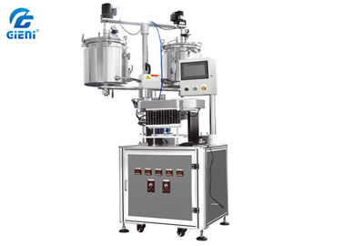 12 Nozzles Lipstick Filling Machine with 20L Double Heating Tanks