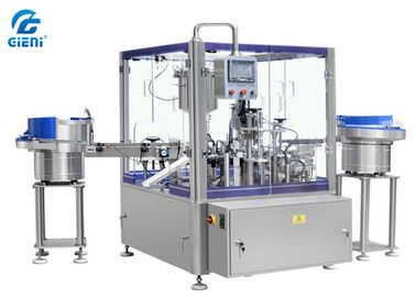 Full Automatically Rotary Paste Filling Machine , Mascara Filling Machine