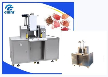 Full Hydraulic Type Cosmetic Powder Press Machine For Bottom Up Blusher