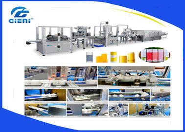 Linear Type Auto Cosmetic Filling Machine, Six nozzles Sunstick filling