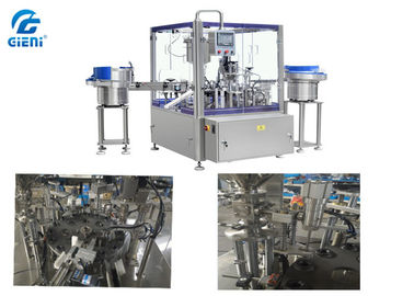 Automatic Rotary Lip Gloss Filling Machine 1-30ml with 50 Pieces Per Minute