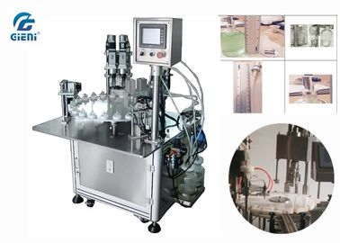 High Output Perfume Filling Machine with Two Nozzles and Capping Machine