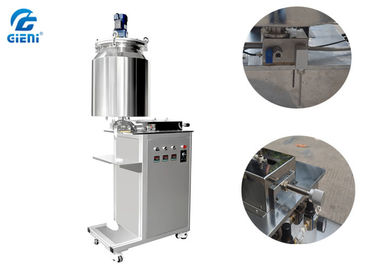 Vertical Type Single Nozzle Mascara Filling Machine With 20L Tank , Easy To Operate