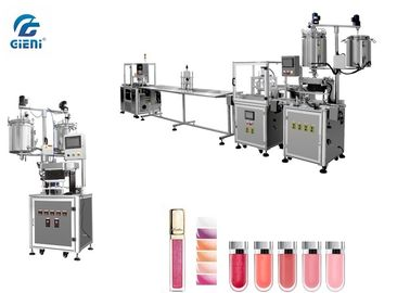 High Speed Automatic Cosmetic Filling Machine For Lip Oil With Touch Screen