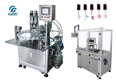 China High Efficiency Nail Polish Bottle Filling Machine 220V With Servo Capper factory