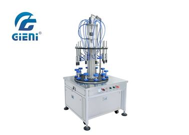 Full Pneumatic Perfume Filling Machine With Vacuum Type Filling
