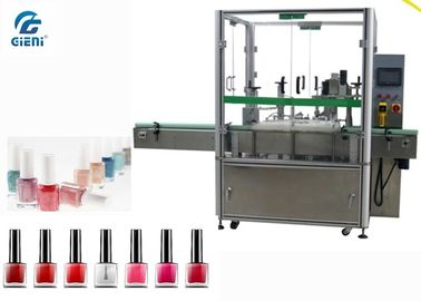 High Speed  Nail Polish Filling And Capping Machine 2 Nozzles For Small Dose