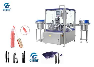220V Automatic Cosmetic Filling Machine with Bottle Capping System