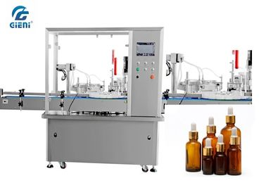 High Precision Automatic Liquid Filling Machine For Essential Oil Glass Container