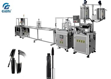 SS 304 Cosmetic Filling Equipment With Feeder And Capper , Semi Auto Filling Machine